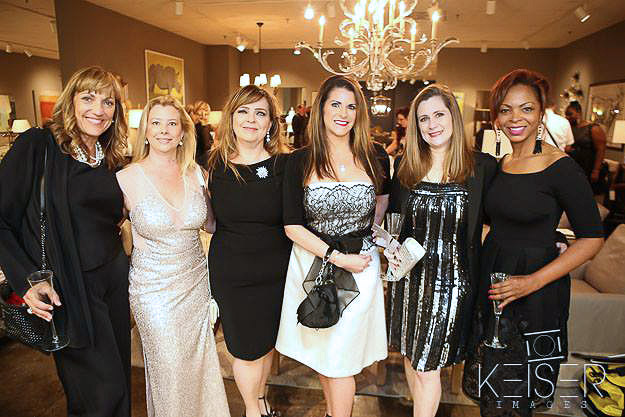 Shundra Harris with other ASID members at a formal event